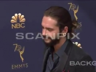New video of Tom Heidi 17.09.2018, 70th Primetime Emmy Awards, Arrivals, Los Angeles, USA - - tokiohotel tomkaulitz heidiklum