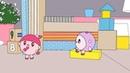 Малышарики - Раскраска для детей - Гости - Развивающие мультик для самых маленьких