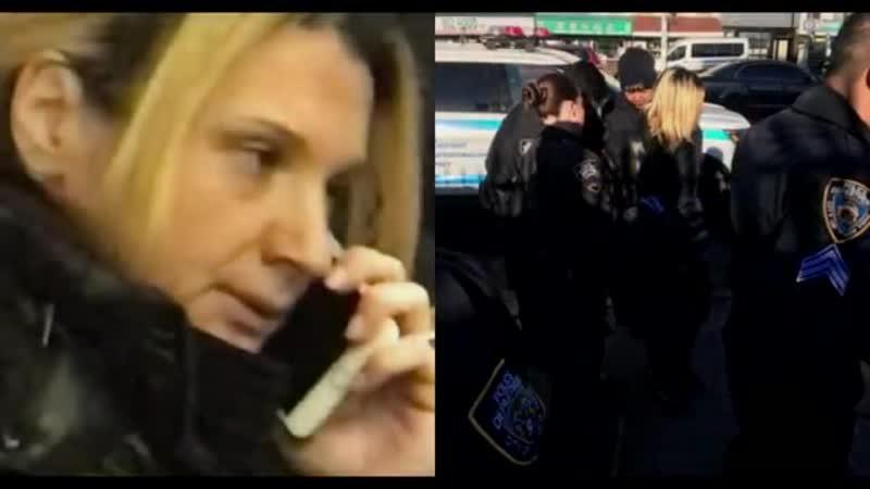 ✊ Русская адвокат набросилась с пинками на людей в Нью-Йоркском метро 😲