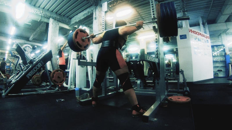Crowbar squat 230kg in January