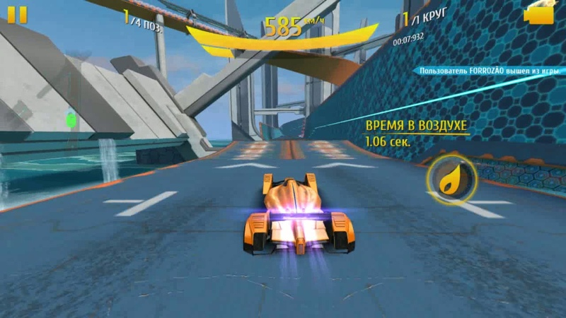 Asphalt 8 - McLaren 2018 x2 Multiplayer unedited 3 races San Diego Sector 8 Barcelona reverse