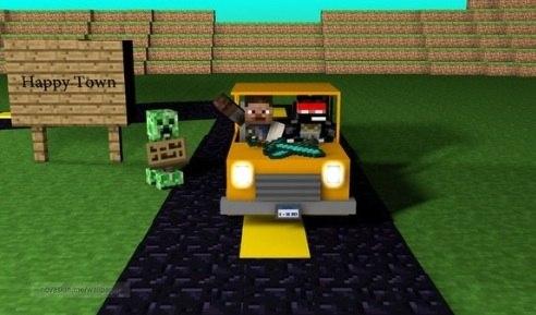 Minecraft [прохождение карты] #1 - MiSTiK и LaGGeR 7