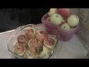 Всех с праздником! Готовлю печеные яблоки с творогом