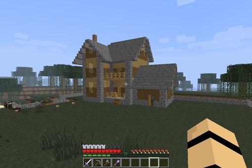 Как сделать дом с механизмами в minecraft