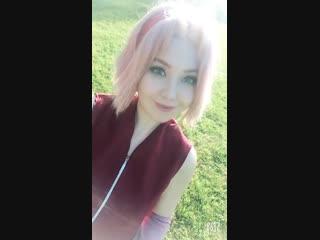 Sakura haruno cosplay naruto