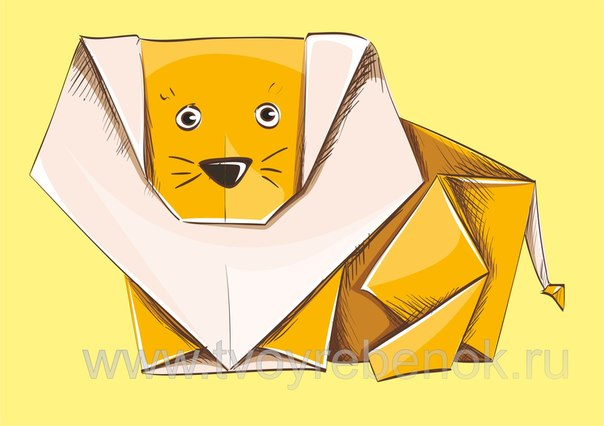 для детей   Схемы оригами