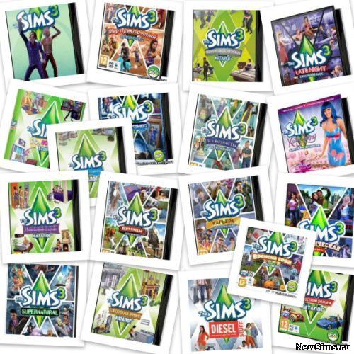 The sims 3. Gold edition + store march 2013 (2009 2013) repack.
