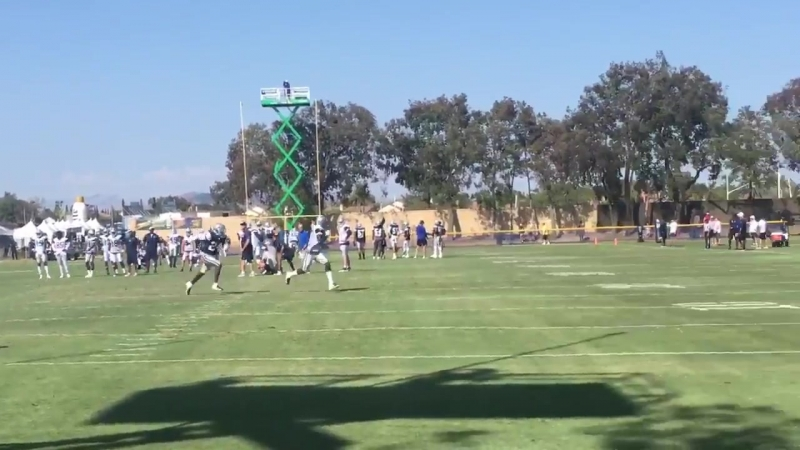 Chido vs Hurns from another angle CowboysCamp Day 5