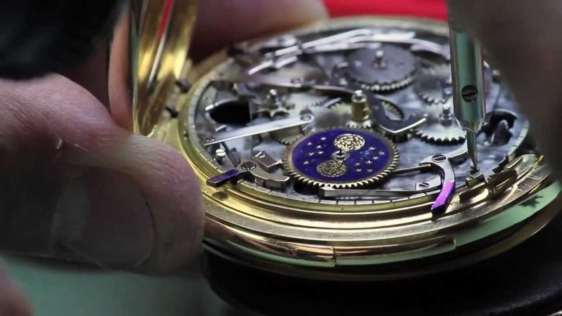 Vacheron Constantin Minute Repeater Perpetual Calendar Pocket Watch Restoration