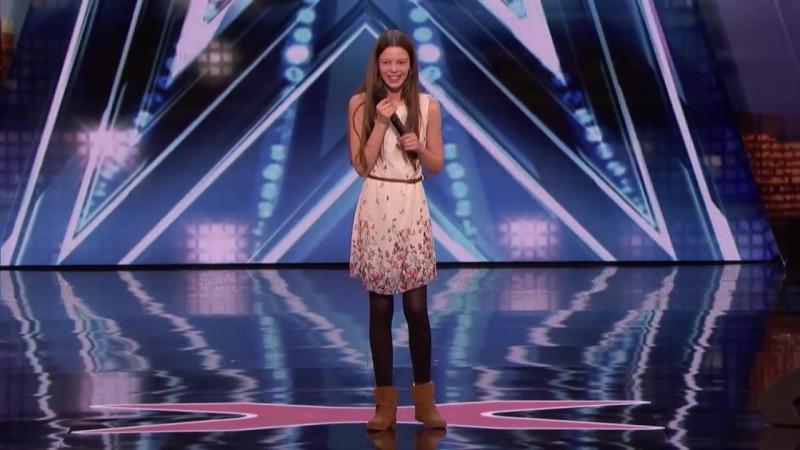 Courtney Hadwin – 13-Year-Old Golden Buzzer Winning Performance - Americas Got Talent 2018