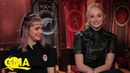 Sophie Turner and Maisie Williams on how they'd rule Westeros