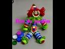 (RECICLAGEM)Como fazer um palhaço de tampas de garrafa pet - Clown