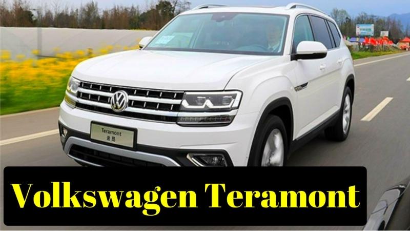 Volkswagen Teramont цена в России фото характеристики