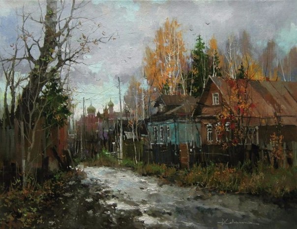Красота природы в живописных работах художника Алексея Савченко