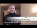 PORTRAIT WAYNE McGREGOR interviews Igor Zelensky Wayne McGregor premiere 14 04 2018 Bayerisches Staatsballett
