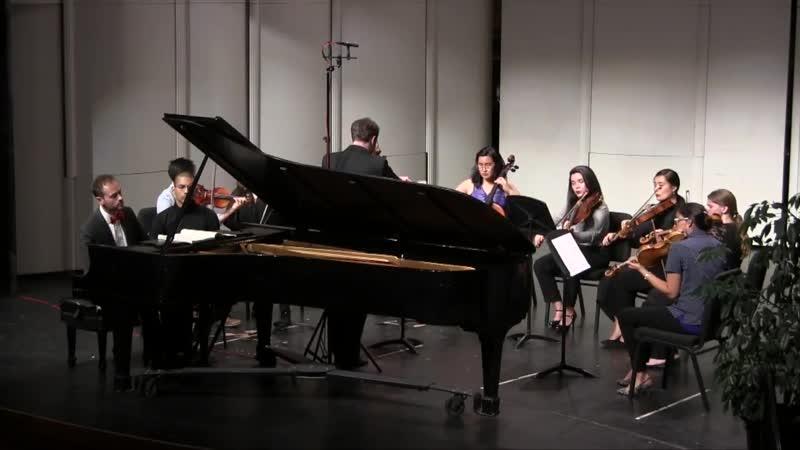 1052 J. S. Bach – Harpsichord Concerto No.1 in D minor, BWV 1052 - Nathan Carterette