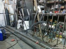 Откатные ворота из профильной трубу. Свежий взгляд на металл.