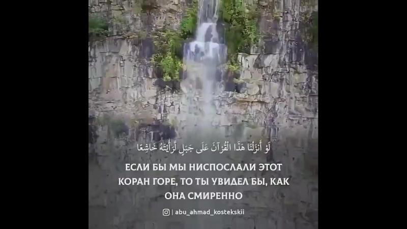 Во имя Аллаха Милостивого Милосердного. Сура Al-Hashr, аяты 20-21 О, Аллах сделай это напоминание непрерывной милостыней для мои
