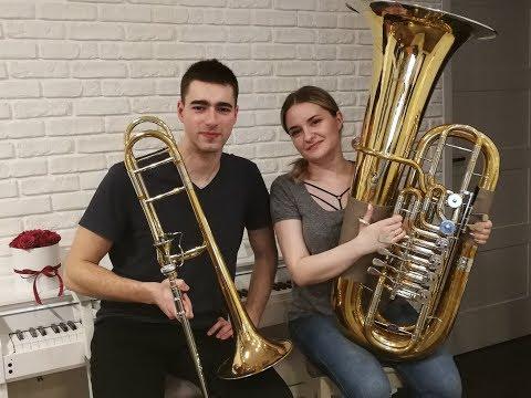 Havana - Camila Cabello - Double Brass (Trombone Tuba Cover)