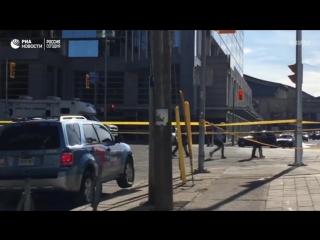 Наезд на пешеходов в Торонто – кадры с места ЧП