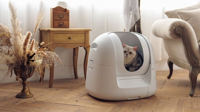 Footloose Next-Gen Automatic Health-Tracking Cat Potty