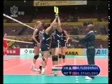 Чемпионат мира по волейболу 2006, Япония, второй групповой этап, Россия-Нидерланды, 3-0, 1 место