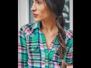 Схема плетения спиральной косы