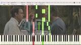 У беды глаза зелёные (Женский вариант) (Ноты и Видеоурок для фортепиано) (piano cover)