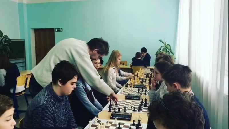 Муниципальный турнир по шахматам