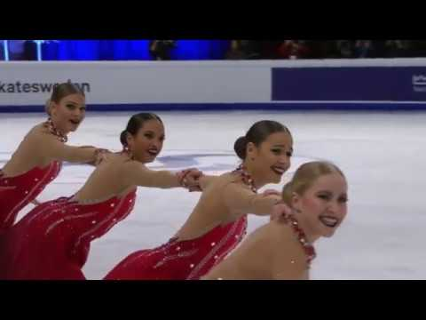 18 Team Surprise SWE SP 2018 World Synchro Champs