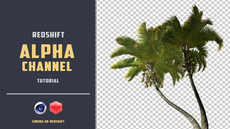 Import textures with alpha channel in REDSHIFT [CINEMA4D TUTORIAL]