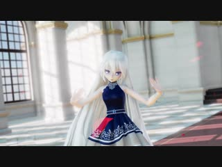[mmd] 【 unknown mother-goose 】【 haku yowane 】