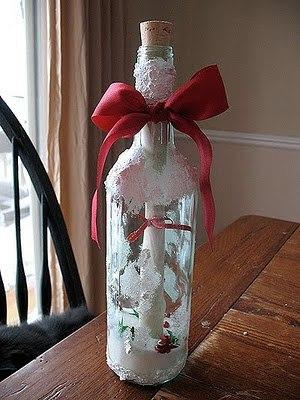 Подарок в бутылке