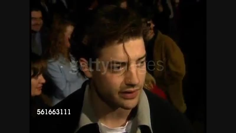 Brendan Fraser at the 'Boys on the Side' Premiere at DGA Theater in Los Angeles, California on February 1, 1995.