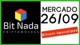 Mercado de Cripto! 2609 Bitcoion Apocalipse IOTA XRP` WalMart Blockchain