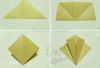 Множество интересных схем оригами смотрите в разделе.  Оригами для детей и начинающих, как сделать поделки из бумаги...
