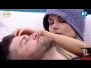 Marcelo e Flávia tentam imaginar como será o relacionamento do casal fora da Fazenda