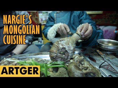 Nargies Mongolian Cuisine EATING ORGANS (Nutrient Rich Super-foods) S1E8