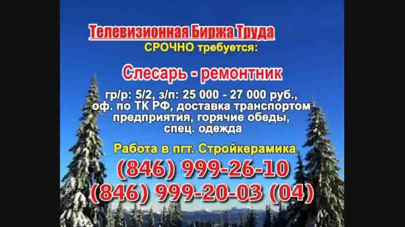 23 января _07.20_12.50_Работа в Тольятти_Телевизионная Биржа Труда