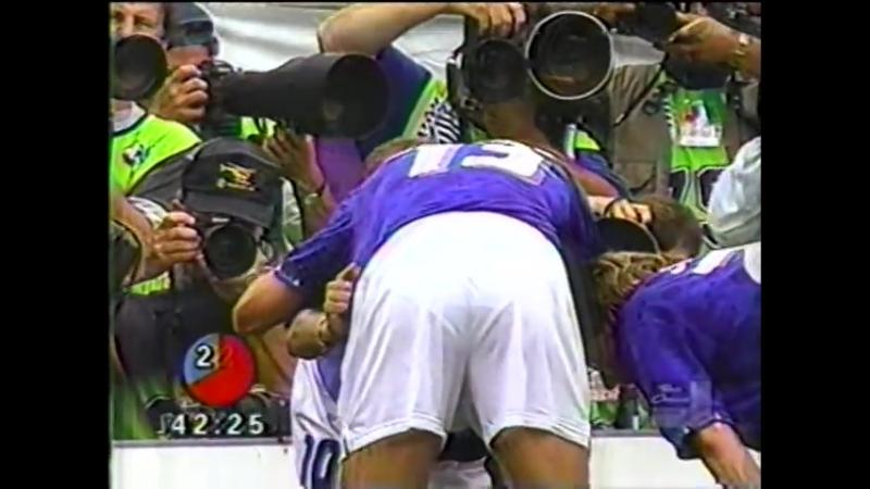 Italia elimina a España, gol de Baggio, Mundial 1994, narra Andrés Salcedo Radio Caracas Televisión