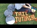 FennéCrafts Fursuit Tutorial - Puff Ball Tail