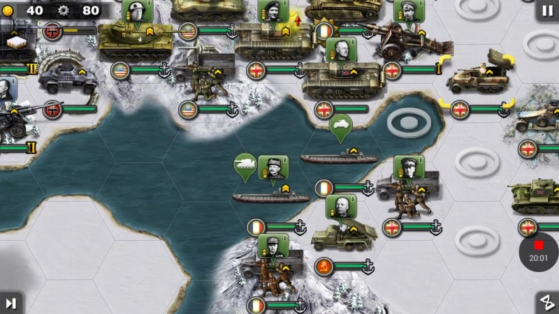 Arctic Front—Allies—2 Final Battle—Glory of General