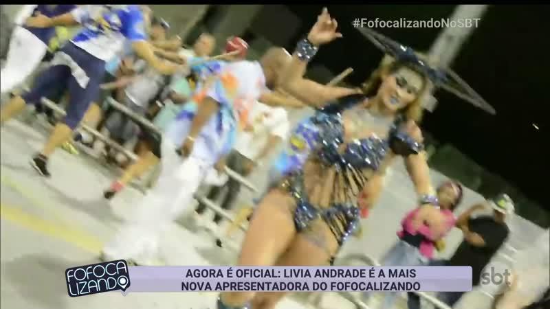 Livia Andrade - Estreia Fofocalizando
