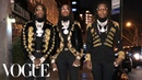 Migos Get Ready for the Grammys | Vogue