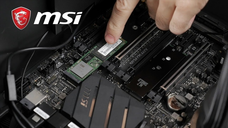MSI Pro Cast16 –Easy M.2 SSD RAID 0 Configuration Setup | Gaming Motherboard | MSI