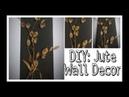 DIY: 3D jute wall decor/ wall hanging