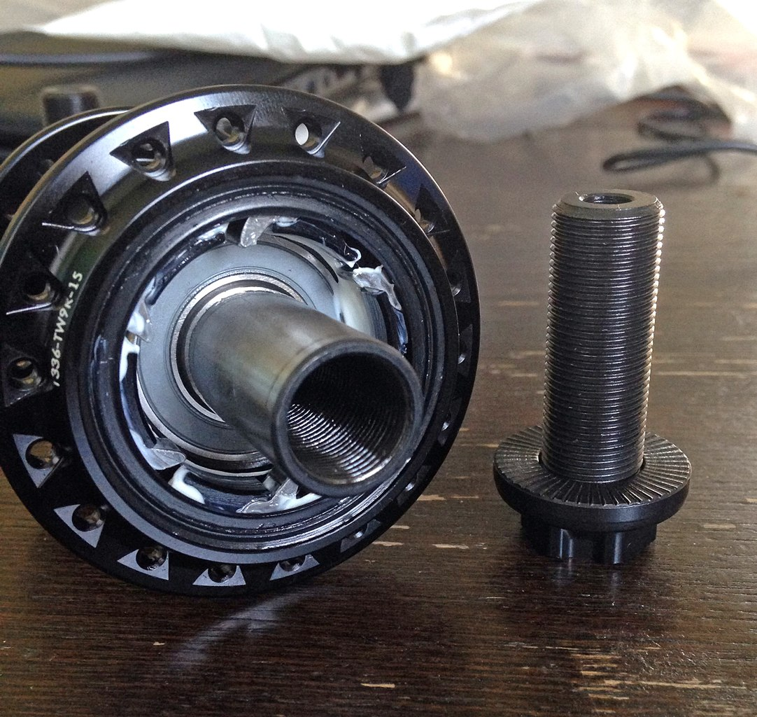 wtp supreme rear hub
