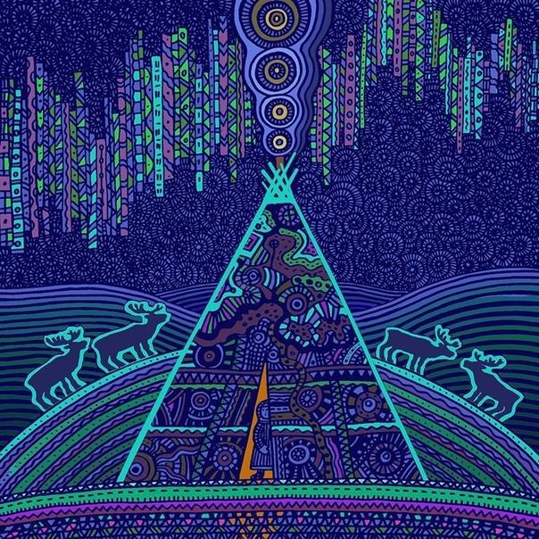 Музыка северного сиянья. Эксклюзивный диск, составленный в 1990 году на студии грамзаписи Мелодия, из материалов записанных отечественным союзом композиторов в ходе экспедиций в 1964-1989