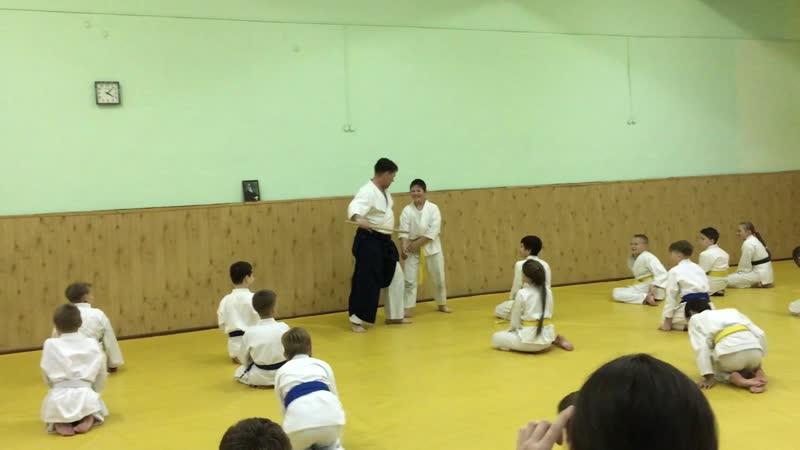 4 Семинар Михаила Горшкова - 4 дан Айкидо | 合気道 | Aikido