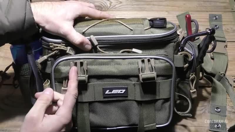 LEO - Крутая Сумка из Китая для Ходовой рыбалки-Bag for fishing